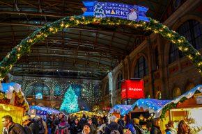 Рождественские ярмарки Цюриха (Швейцария)