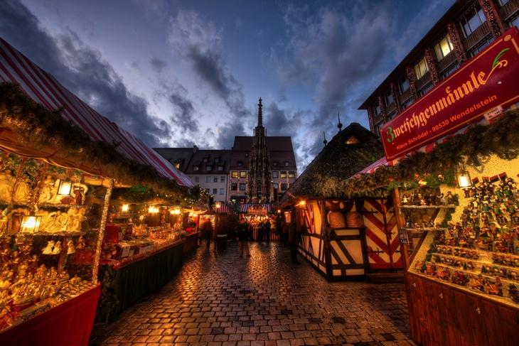 Рождественская ярмарка Нюрнберга (Германия)