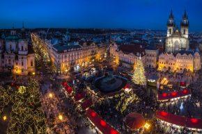 Рождественские ярмарки Праги (Чехия)