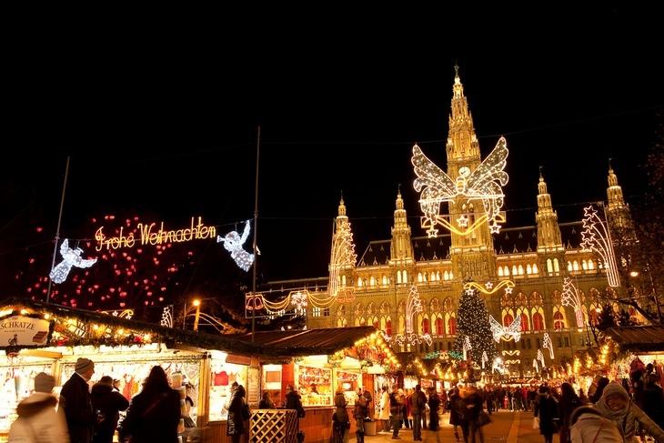 Рождественские ярмарки Вены (Австрия)