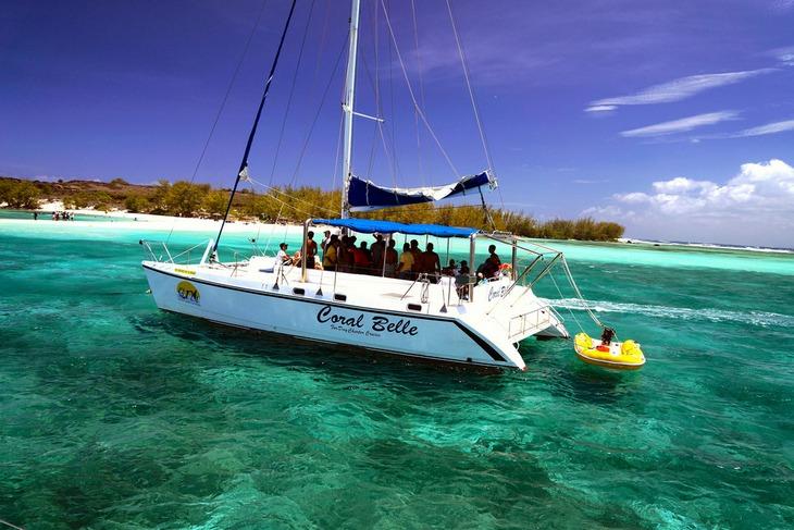 Морская прогулка у Северного побережья Маврикия: острова Плоский и Гарбиель