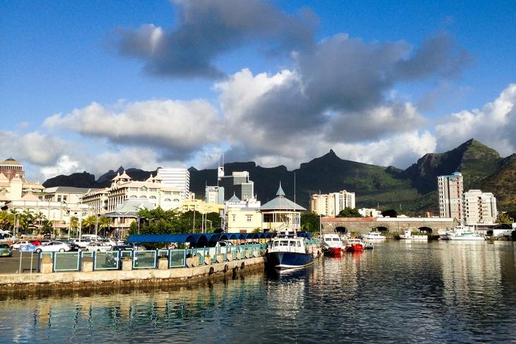 Порт-Луи - столица Маврикия