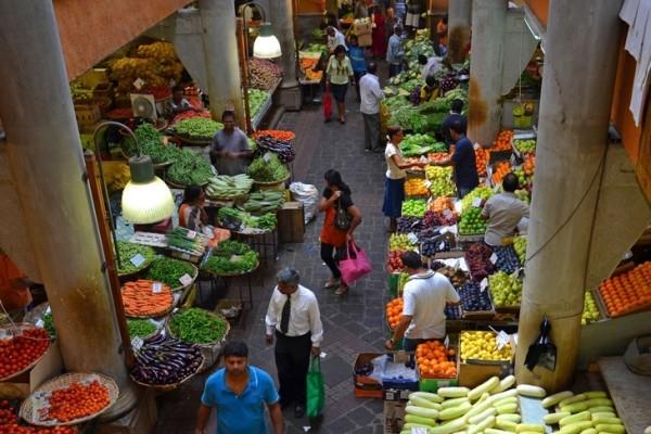 Центральный рынок Порт-Луи