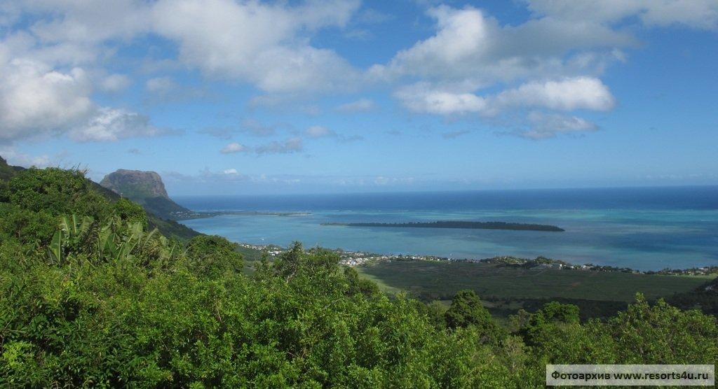 Юго-западное побережье острова Маврикий