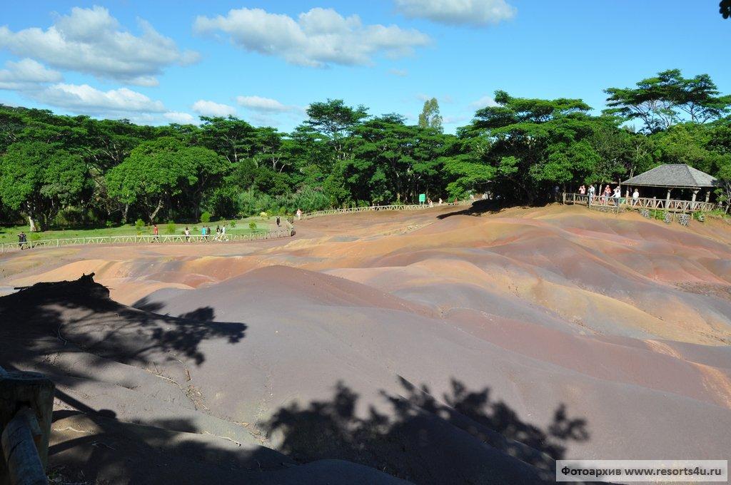 Семицветные земли Шамарель