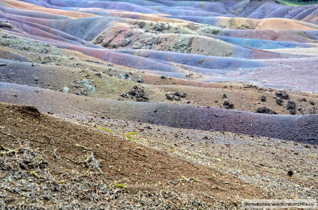 Разноцветные пески Шамарель