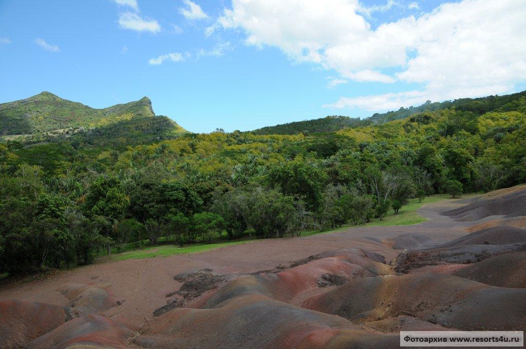 Семицветные дюны Шамарель