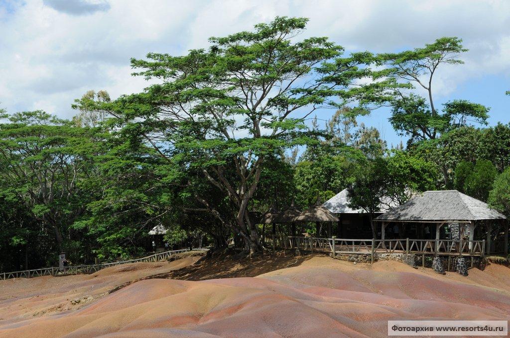 Радужные пески Шамарель