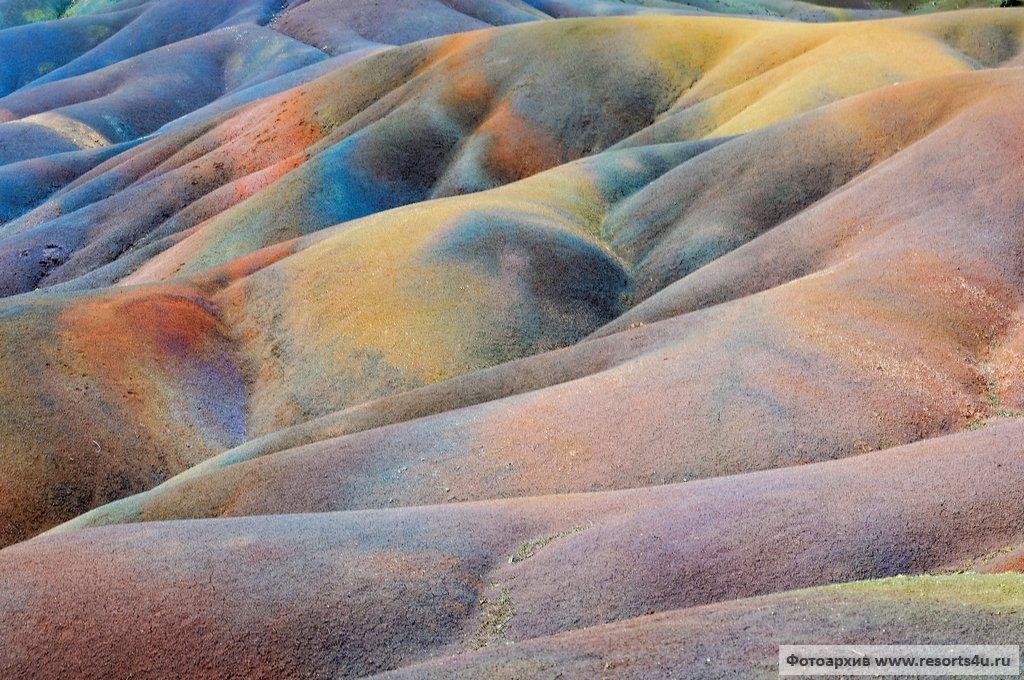 Семицветные пески Шамарель