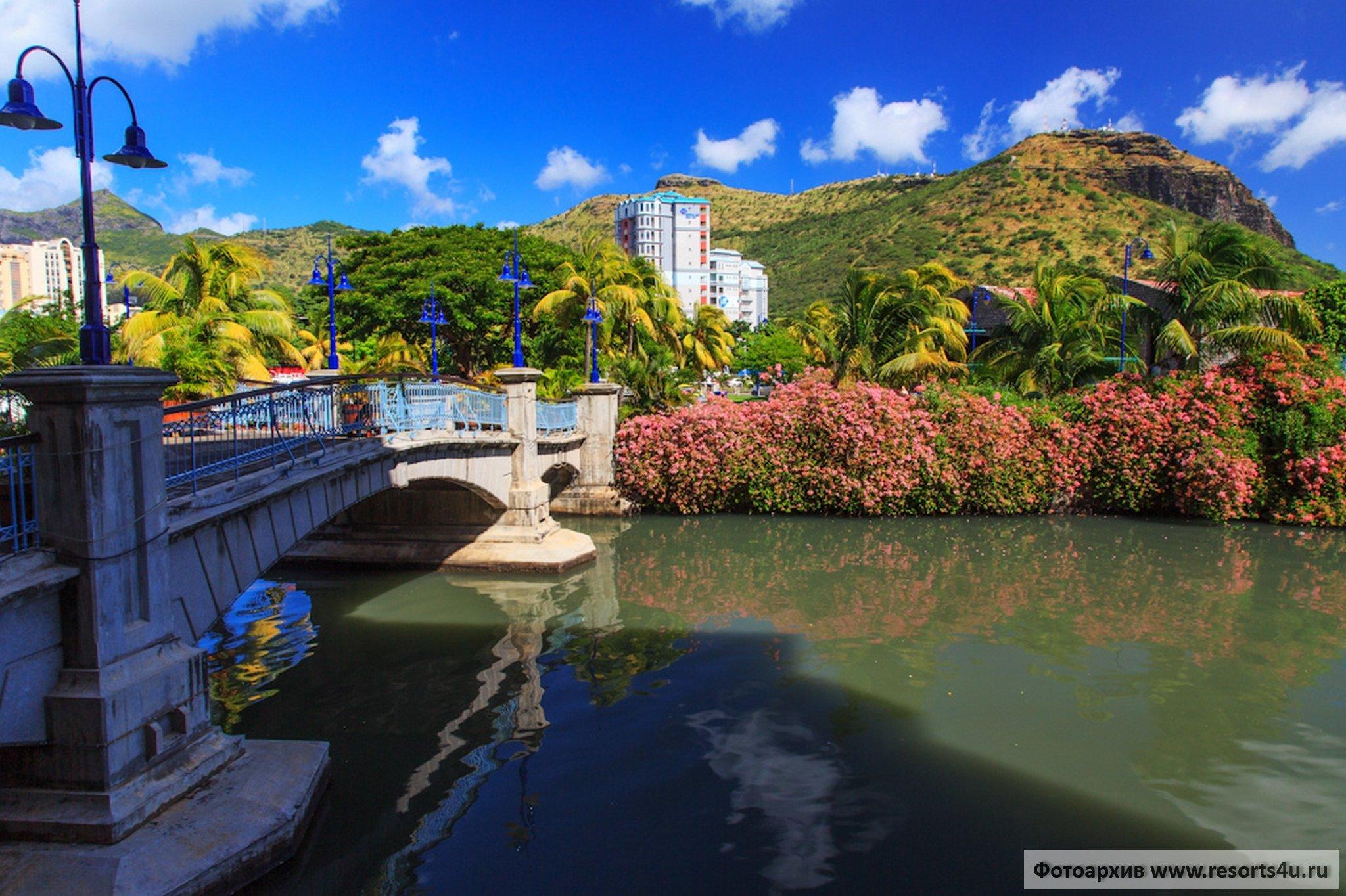 Порт-Луи — столица Маврикия