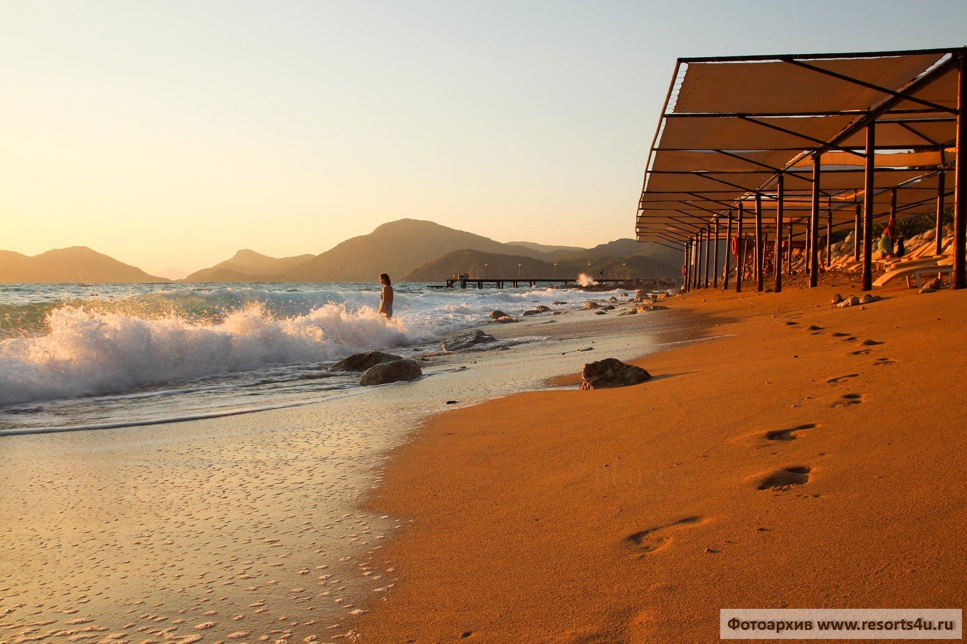 Пляж Liberty Hotels Lykia 5*