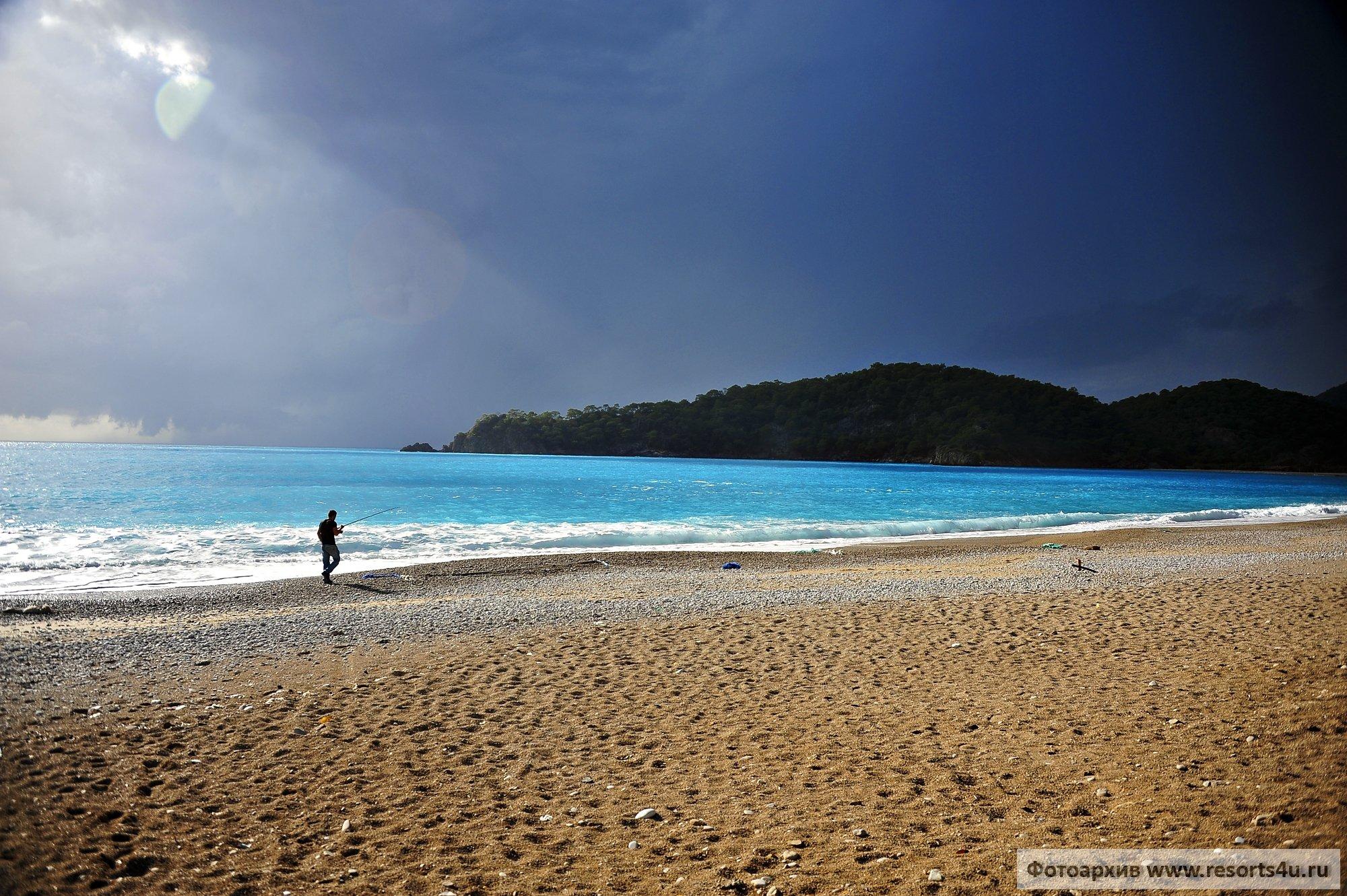 Пляж Бельджекиз в Олюдениз