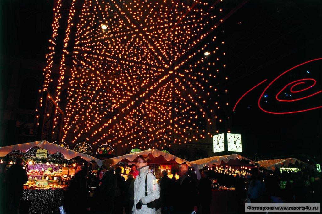 Рождественский базар, Цюрих