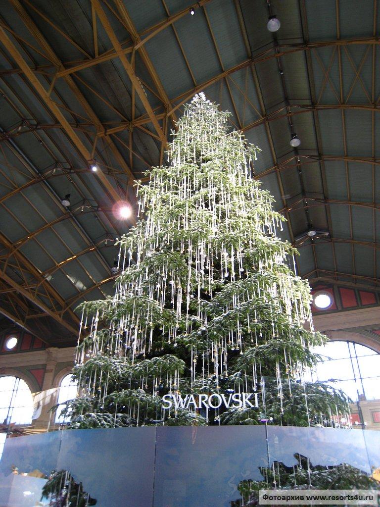 Новогодняя елка от Swarovski