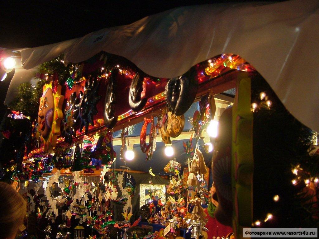 Рождественская ярмарка Цюриха