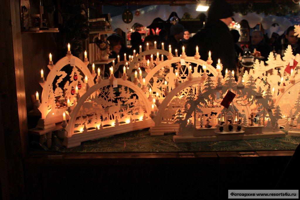 Рождественский базар Цюриха