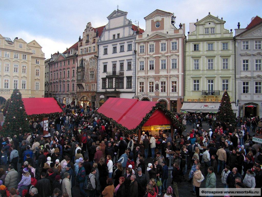 Главная рождественская ярмарка Праги