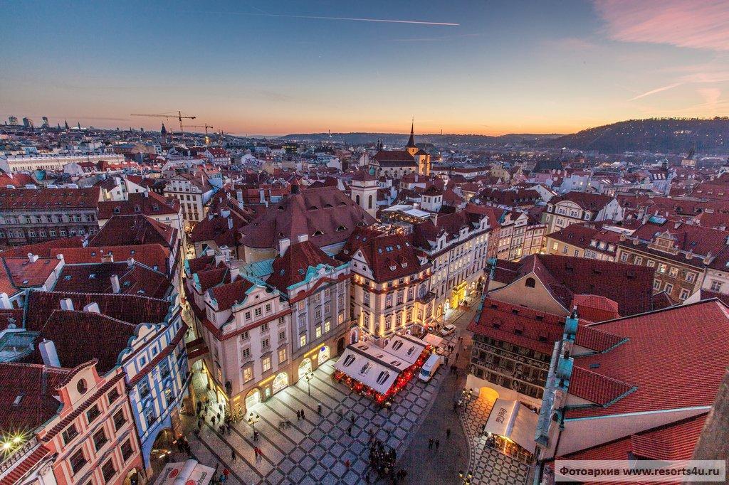 Прага накануне Рождества