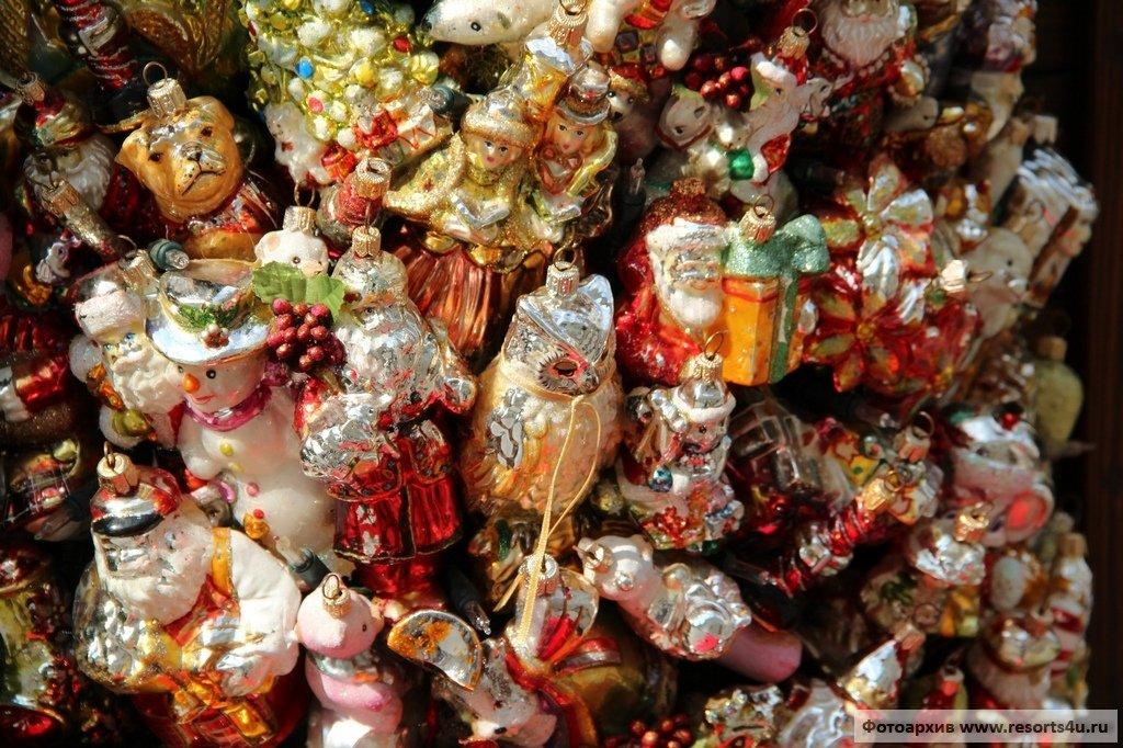 Чешские елочные игрушки