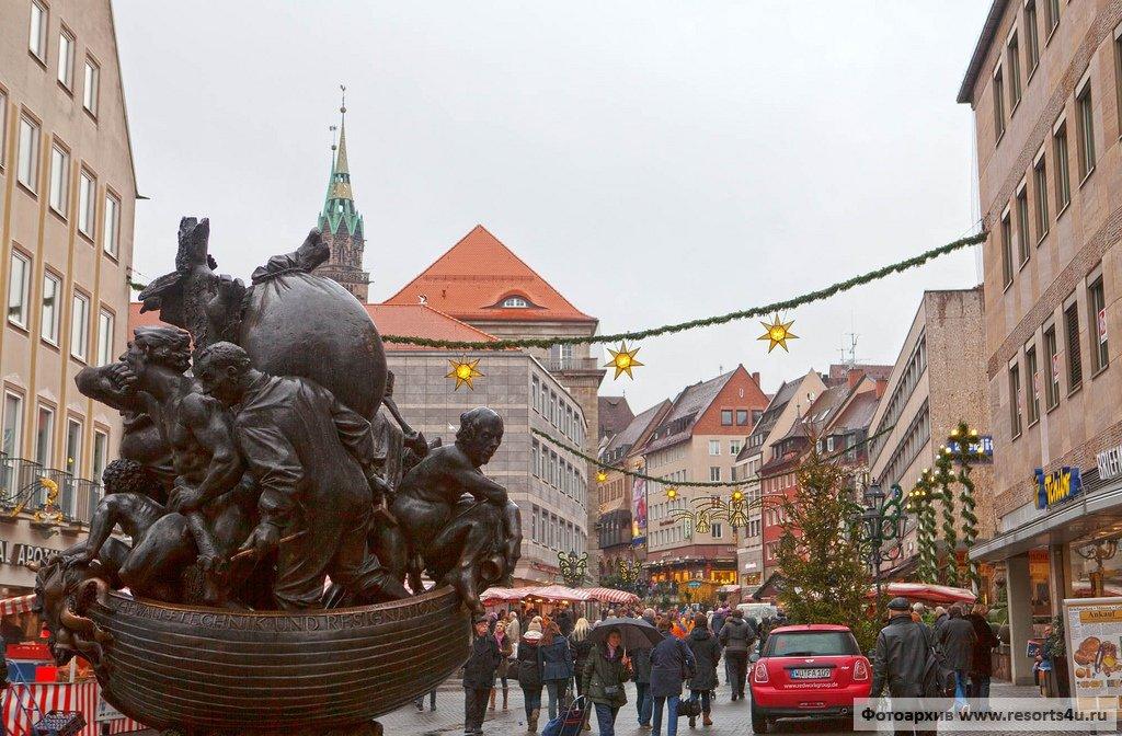 Рождественские ярмарки Германии