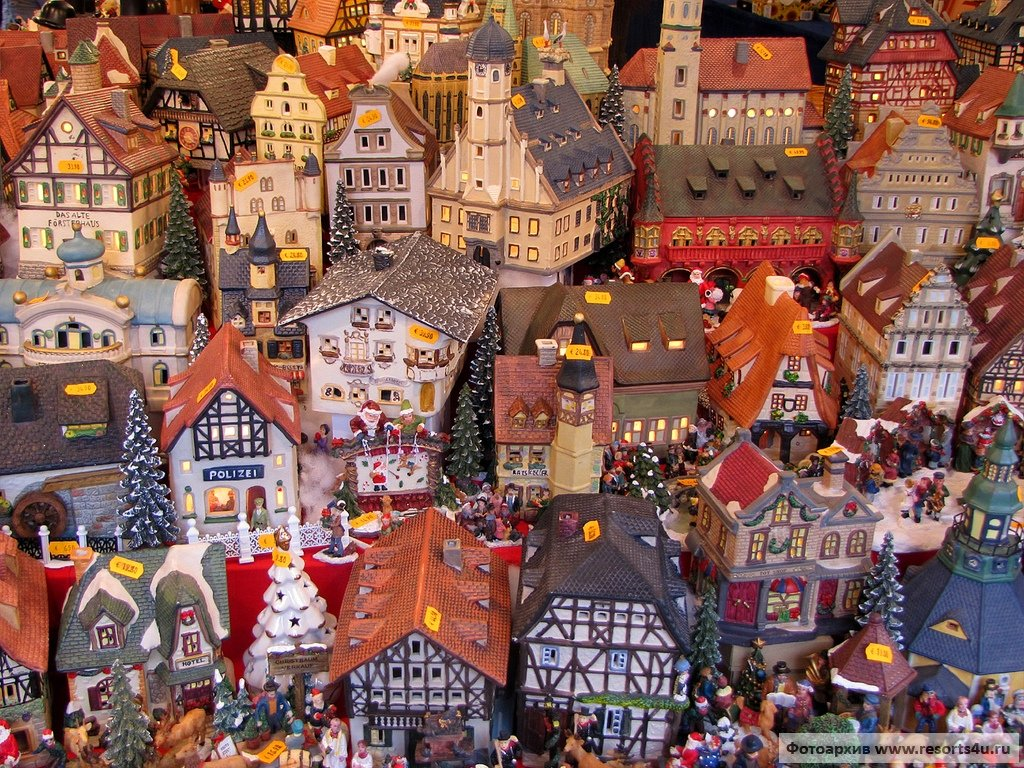Рождественская ярмарка Нюрнберга