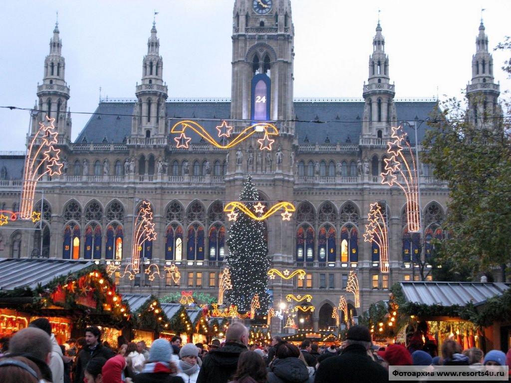 Волшебство Адвента, Рождественский рынок младенца Христа в Вене