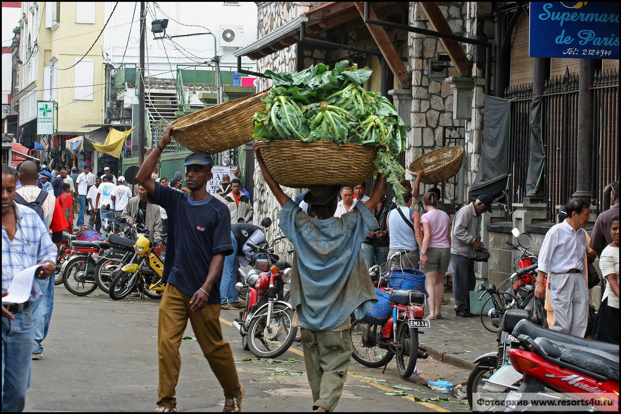 Центральный рынок Порт-Луи, Маврикий. Bazaar