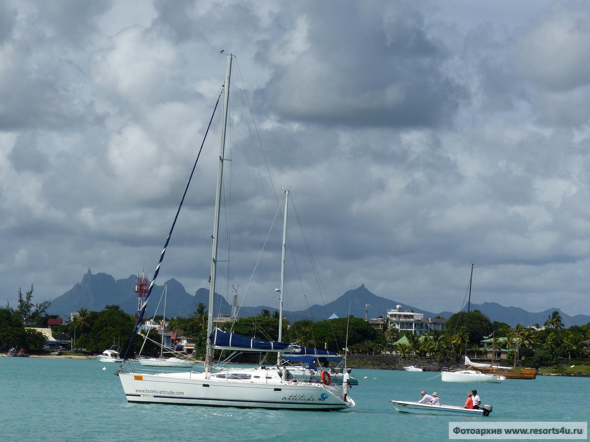 Маврикий: острова Плоский и Гарбиель