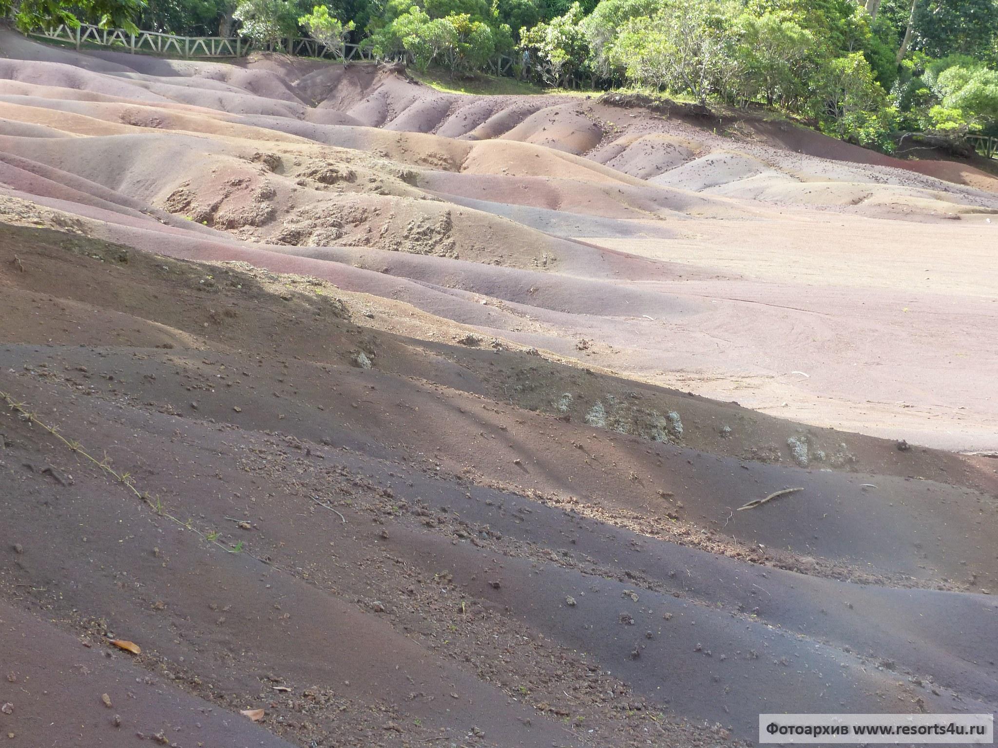 Маврикий: Шамарель, природный парк «Земли семи цветов»