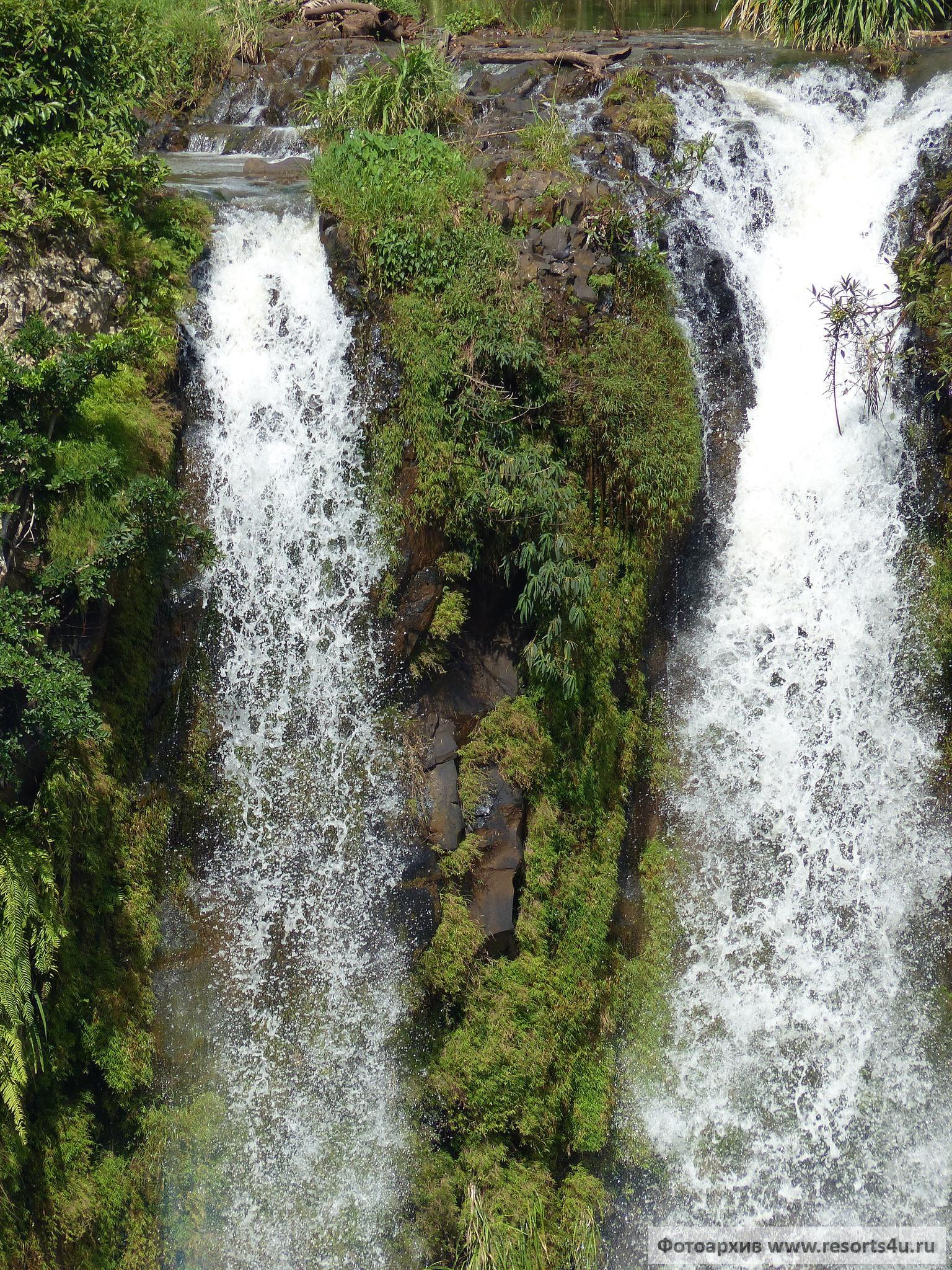 Маврикий: Водопады Шамарель